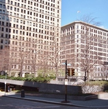 Mellon Square Park (Where the Davis Theatre once stood)