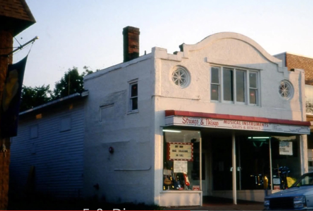 Royal Theater building circa 1980