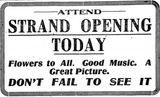 February 15th, 1915 grand opening ad