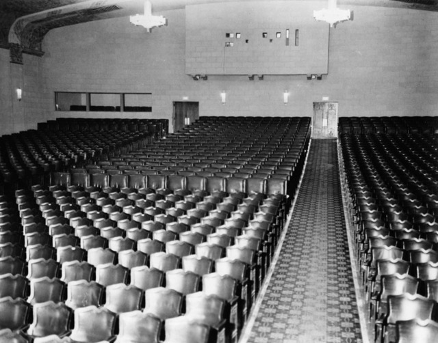 Fox Mesa Theatre interior