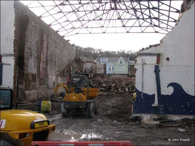 The site of the Tivoli Cinema from the rear