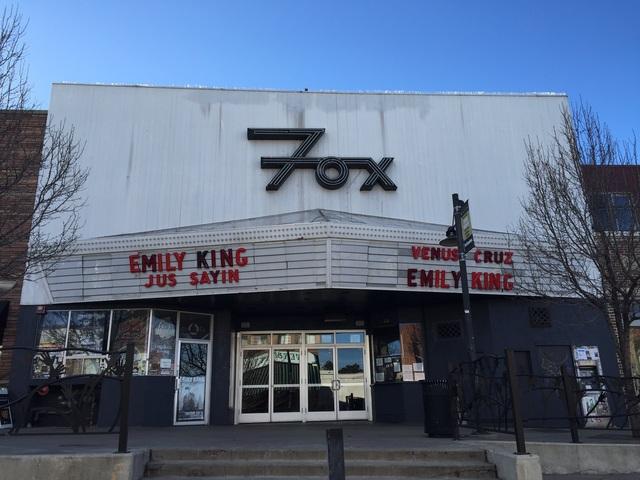 Fox Theatre - Boulder CO 2-13-2016