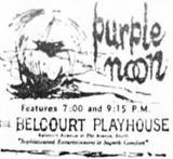 First ad as Belcourt from November 2nd, 1962
