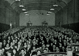 <p>A full house at the Randolph for Jack Dempsey in 1924</p>