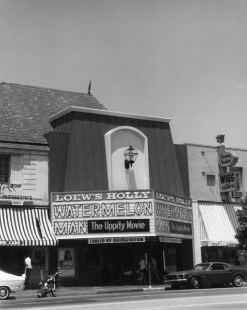 Loew's Holly Theatre (1970) exterior 