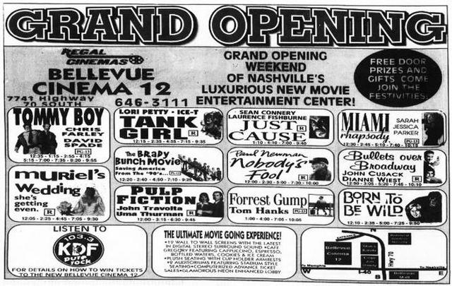 bellevue cinema 12 in nashville tn cinema treasures