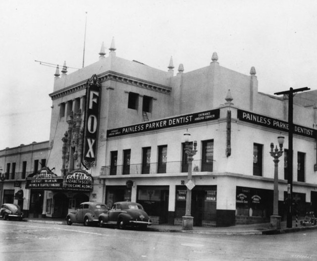 Fox Cabrillo Theatre exterior