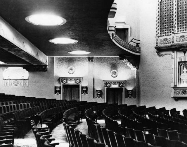 Fox Figueroa Theatre auditorium interior
