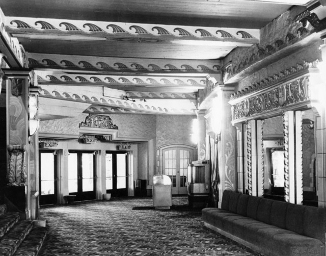 Fox Figueroa Theatre lobby interior