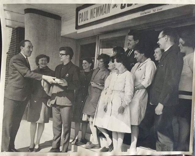 Walter Aylen and Staff 1960s
