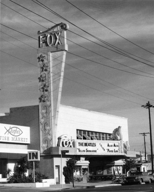 Fox Venice Theatre  exterior