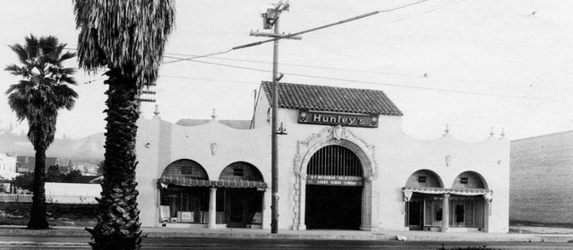 Hunley's Theatre exterior
