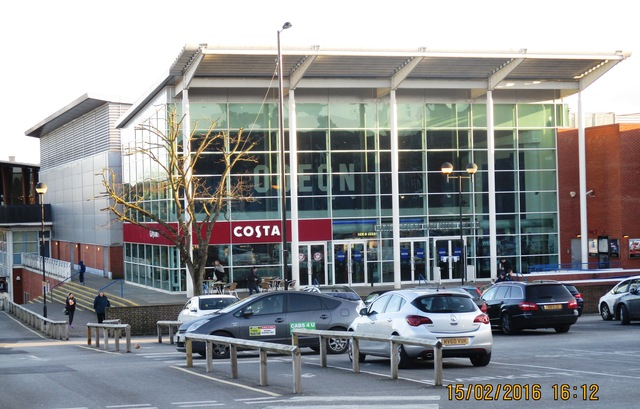 Odeon as seen with Costa just inside