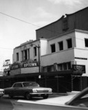 Fox Uptown Theatre exterior (closed-razing)