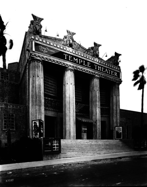 Temple Theater, January 29, 1926
