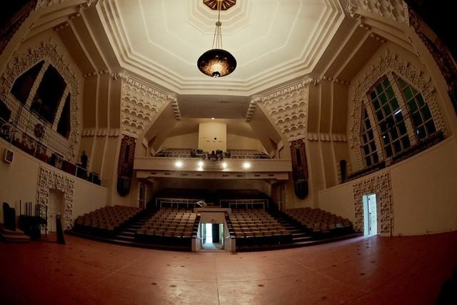 Interior of Scottish Rite auditorium, present day