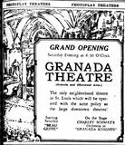 September 29th, 1927 grand opening ad