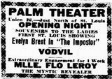 May 15, 1926 grand opening ad