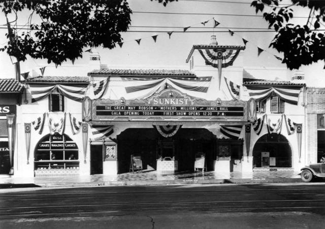 Fox Sunkist Theatre exterior