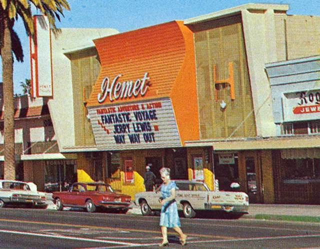 Hemet Theatre exterior
