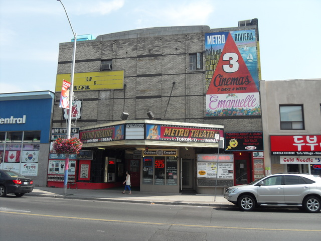 "Metro Theatre ""677 Bloor Street West"""