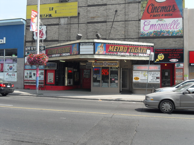 "Metro Theatre ""677 Bloor Street West"" Toronto"