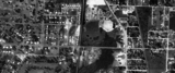 1957 aerial of Outdoor Theater