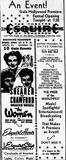 November 8, 1939 grand opening ad
