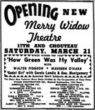 March 20th, 1942 grand reopening ad