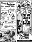 January 28th, 1943 grand opening ad as a Loew's theatre