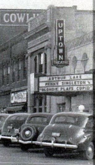 UPTOWN Theatre; Mount Carmel, Illinois.