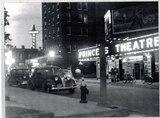 Princess Theater at night