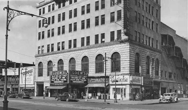 Loew's Coney Island Theatre exterior (1938)