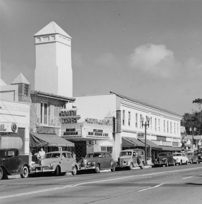 South Coast Theatre exterior