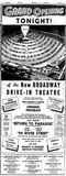 May 30th, 1954 grand opening ad.
