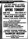November 19th, 1954 grand opening ad