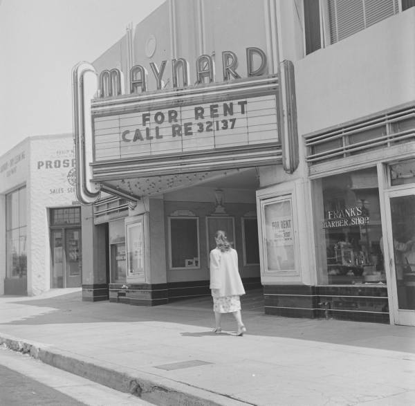 Maynard Theatre exterior
