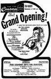 October 31st, 1962 grand opening ad