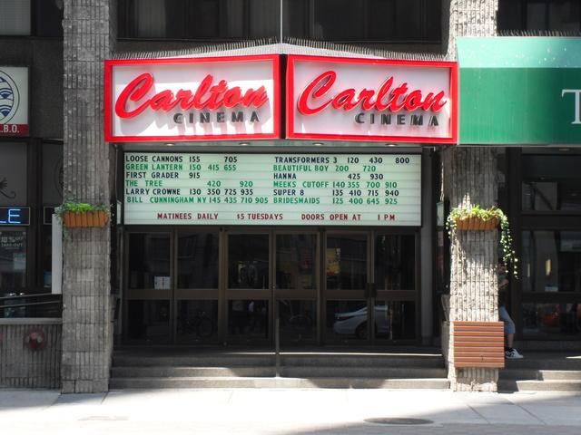 Carlton Cinema 20 Carlton Street Toronto
