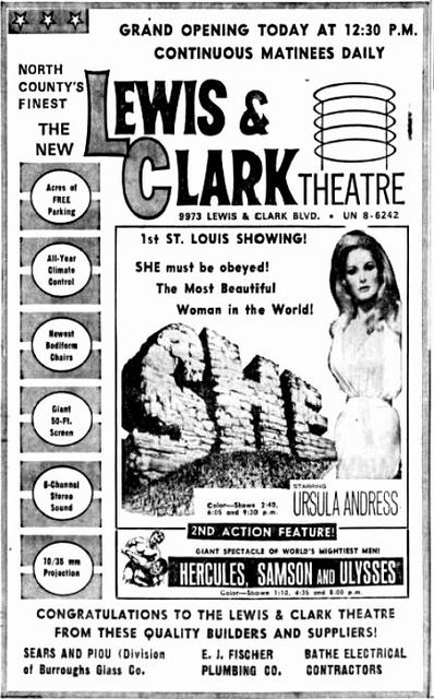 June 11th, 1965 grand opening ad