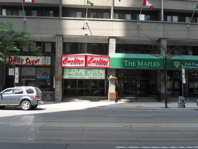 Carlton Cinema 20 Carlton Street Toronto Ontario