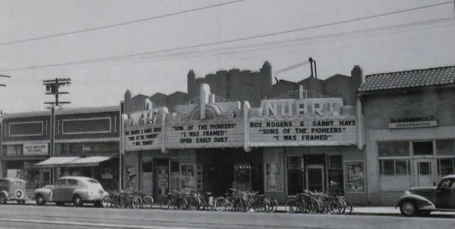 Nuart Theatre (1942) exterior