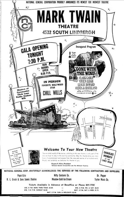 August 28th, 1968 grand opening ad