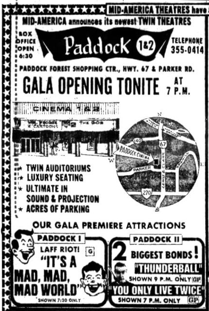 March 26th, 1971 grand opening ad
