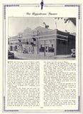 Biographical Account about the Hippodrome Theatre - 1919