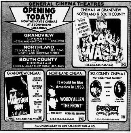 October 22nd, 1976 grand opening as twin