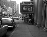 <p>Main Street W.OP. Looking east 1960, Loew's Theater on the right</p>