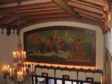 Mural lobby