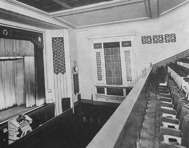 Odeon Lido Islington auditorium 1936