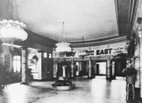 Super Cinema Stamford Hill lobby in the late 20s